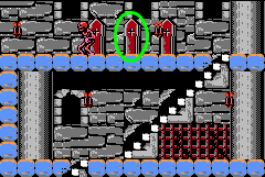 Censorship concerns of Castlevania - Notice the prominent crosses on these coffins.