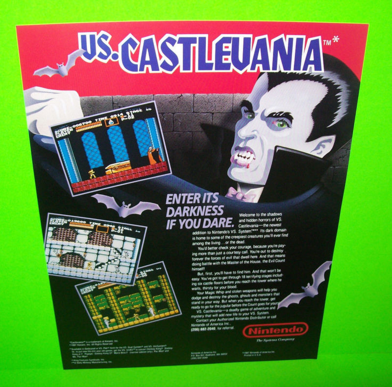 Vs. Castlevania - the arcade version of castlevania.