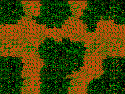 Go Left, Left, Upper-Left and Left to get through lower maze in Jungle.