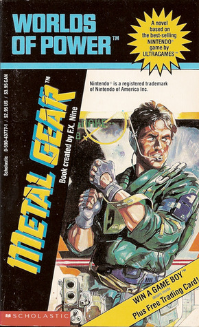 Metal Gear was novelized into a book for young NES fans in the 1990s.