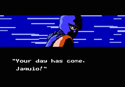 Ryu Hayabusa is filled with rage, as he reaches Jaquio in this Act.