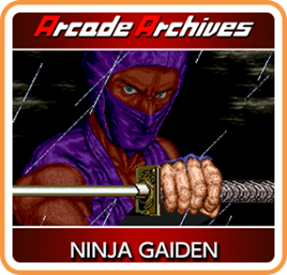 Picture of Ninja Gaiden (Arcade Version) for digital download on Nintendo Switch.