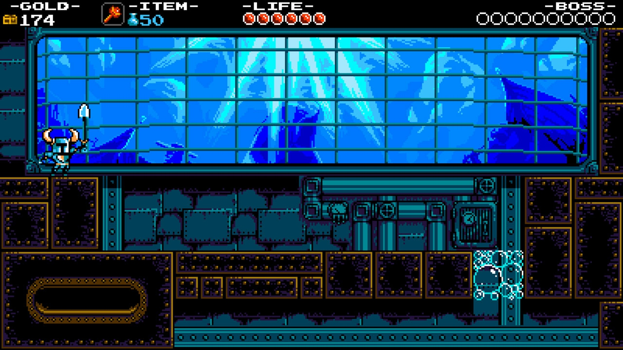 Treasure Knight's Iron Whale Stage takes you to the depths of his sunken ship as you plunge deep in search of its host.