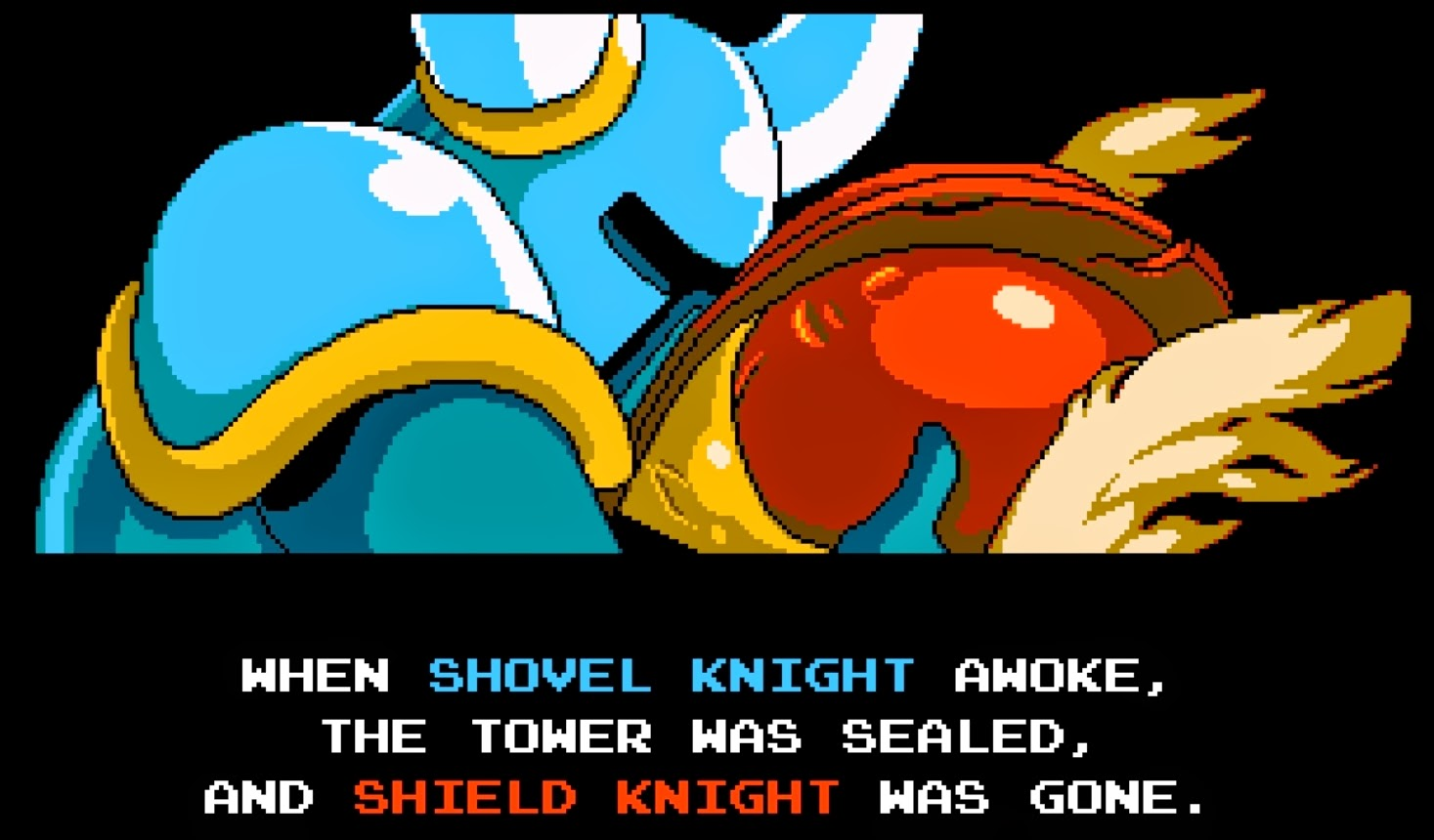 Will you and Shovel Knight be able to rescue Shield Knight?