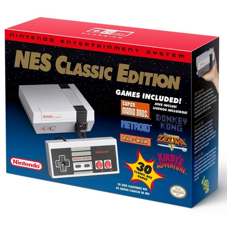 Picture of the Nintendo NES Classic Edition console.